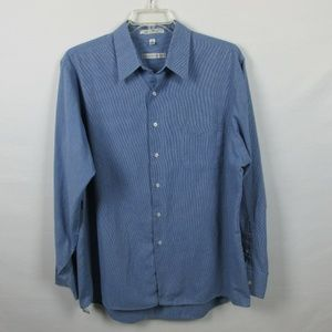 Geoffrey Beene Mens Dress Shirt Size 17 1/2  36/37